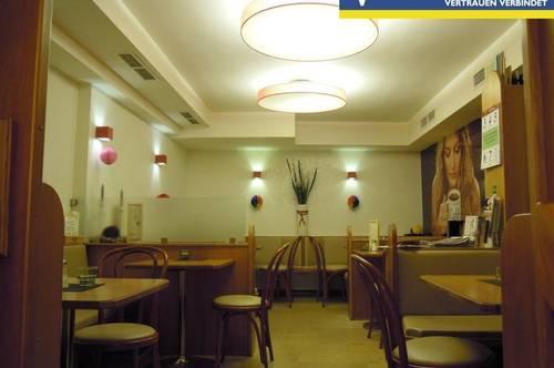 Gastronomie/ Café im ERDGESCHOSS - 62m² Fläche + Lager + Keller