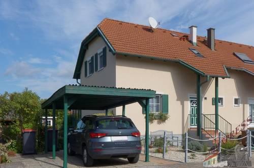 Doppelhaushälfte = Wintergarten = Pool = großer Garten