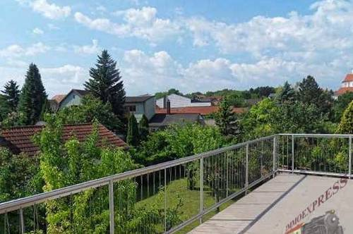 Nähe Eisenstadt - Wohnung in Ruhelage und mit Terrasse und Garten !