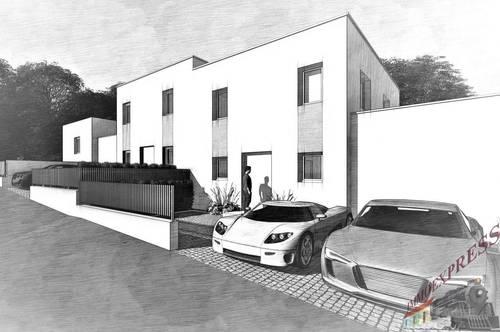 Sehr gut und ruhig gelegene Doppelhaushälften mit 5 Zimmer in Fischamend auf Eigengrund