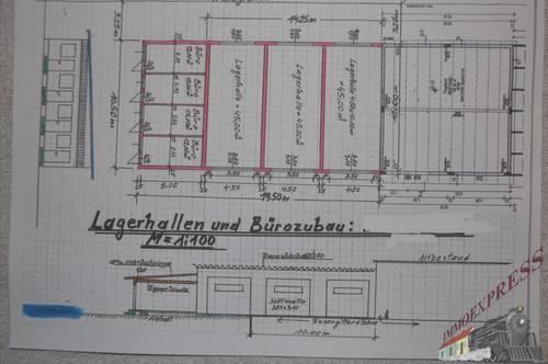 Sehr gut gelegene Lager NEUBAU / Lagerbox in Fischamend - Nähe Flughafen Wien Schwechat