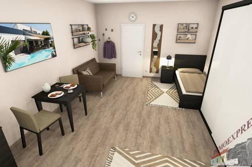 Einzimmerwohnung in Fischamend - NEUBAU - Mitbenützung der Küche, Duschanlage und WC Anlage