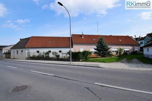 Teiladaptierter Bauernhof mit vielen Nebengebäuden
