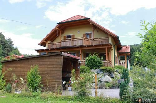 Stegersbach: Einfamilienhaus in sehr ruhiger Waldrandlage