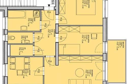 Gratkorn, 3 Zimmer + Balkon ab sofort inkl. Video