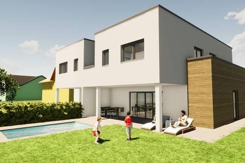 BAUSTART erfolgt! Doppelhaushälfte mit Garten im Süden von Graz, Provisions-Frei