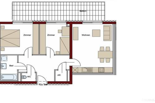 Babenbergerstraße, 3 Zimmer für 2er WG - Jetzt mieten und keine Provision bis 31.01.2021!