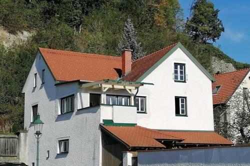 Außergewöhnliches Wohnhaus, so zentral und doch so ruhig
