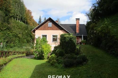 Wohnhaus mit Stallgebäude im Nationalpark Gesäuse