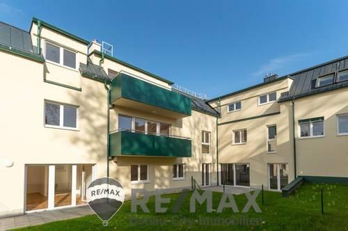 """0 % Käuferprovision! - """"Erstbezug nach Fertigstellung, 3 Zimmer im Dachgeschoss mit Balkon und Gartennutzung-ca. 500 m²!"""""""