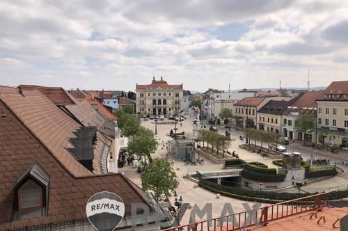 <b>&quot;EXKLUSIVES Wohnen DIREKT am Tullner Hauptplatz mit Garten - über den Dächern Tulln´s!!&quot;</b>