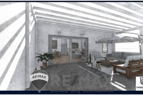 <b>0% KÄUFERPROVISON - Provisionsfreier 4-Zimmer-Erstbezug mit RIESIGER Terrasse!</b>