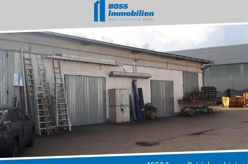 KFZ-Werkstätte und Handel bzw. Autoaufbereiter aufgepasst! 310 m² Halle mit ca. 2500 m² Außenfläche