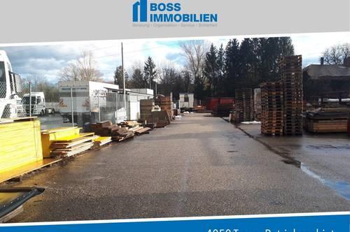 Logistik / Lagerfläche mit Halle, 310 m² Halle mit ca. 2500 m² Außenfläche