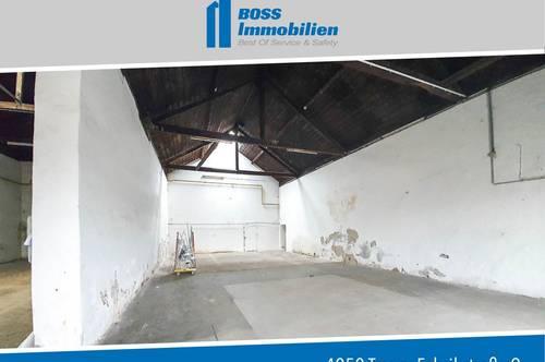 318 m² Lagerfläche im Trauner Zentrum