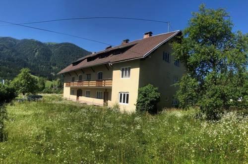 Wohnhaus mit 4 Wohneinheiten + alte Ziegelfabrik Lehmgrube im Gailtal