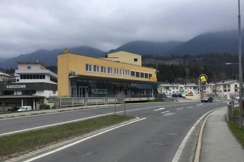 Gewerbeobjekt mit Wohnung zentral in Hermagor