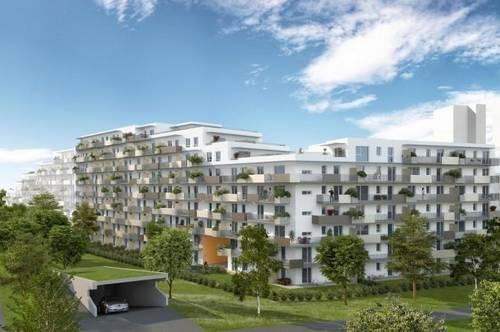 Straßgang - Erstbezug - Quartier 4 - 39m² - 2 Zimmer - große Dachterrasse inkl. Garten - inkl. TG Platz