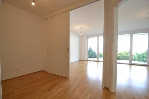 Neubau - Liebenau - 47m² - 2 Zimmer Wohnung - Terrassenwohnung mit Garten