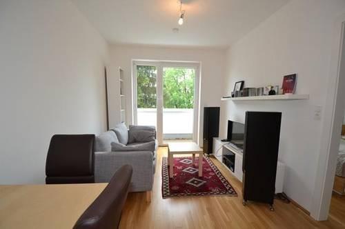 Ries - 33m² - neuwertige 2 Zimmer Wohnung mit Balkon in Waldrandlage