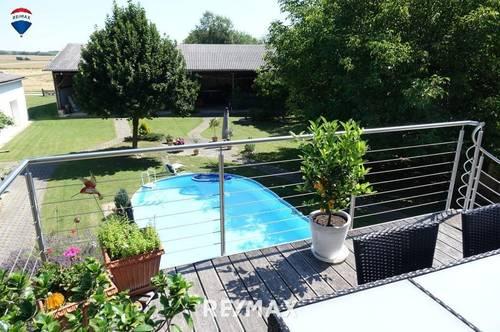 Großes Wohnhaus mit schönem Garten, Halle und vielen Möglichkeiten im Süd-Burgenland!