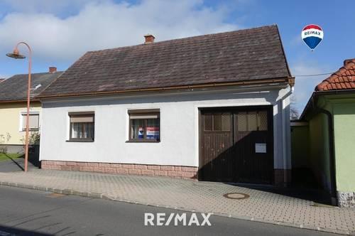 Wohnhaus mit Nebengebäude, Garage und Garten - Südburgenland