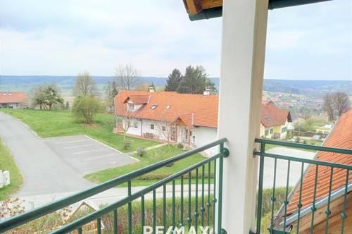 Schöne Wohnung mit Balkon und Aussicht!