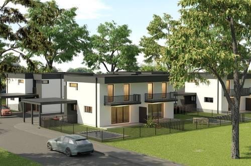 Theresienfeld/Siedlung Maria Theresia: NEUBAUPROJEKT! 4 Doppelhäuser in wunderschöner Lage