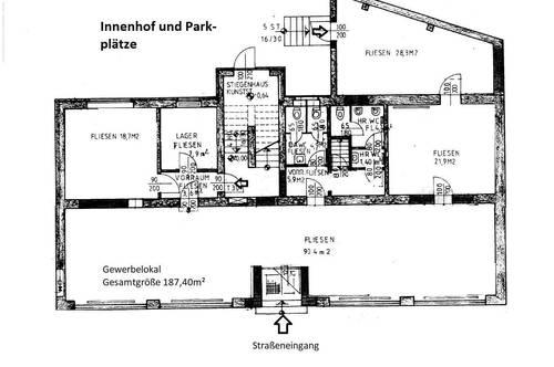 Leobersdorf: Großes Geschäftslokal mit vielen Nutzungsmöglichkeiten