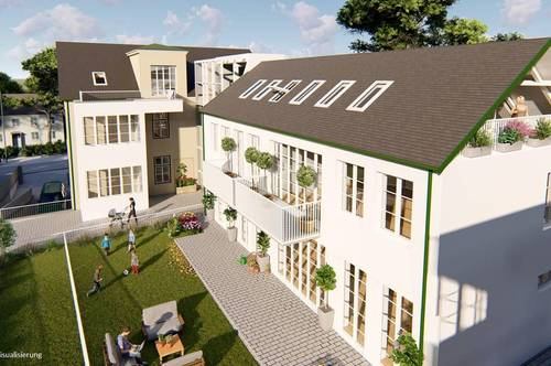 Exklusives Wohnprojekt mit Eigentumswohnungen im schönen Kurort Bad Vöslau