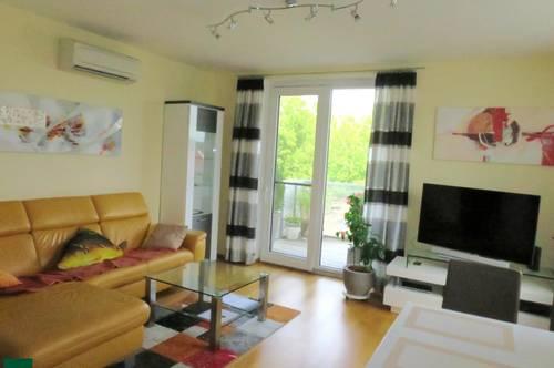 Perfekte 2-Zimmerwohnung mit großem Balkon