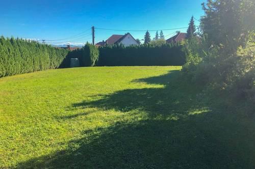 ERSTE REIHE FUSSFREI - Baugrundstück mit ca. 890 m2 in Wilhering/Hitzing