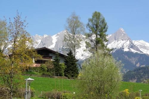 MIETE: HERRLICHER AUSBLICK ÜBER WIESEN & BERGE - PRIVATES AMBIENTE IN HERRLICHER RUHELAGE - GEHWEITE INS STADTZENTRUM - MIETE: Garten-/ Terrassenwohnung in Bischofshofen- Ski amadé