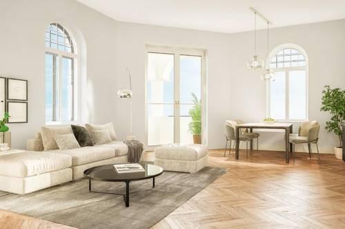 """Das """"Ankerhaus"""" - Geförderte wunderschöne 2-Zimmer-Wohnung mit Loggia im Zentrum von Mürzzuschlag - Erstbezug"""