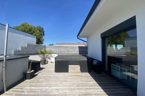 Exklusive 4-Zimmer-Penthouse-Wohnung mit 66 m² Dachterrasse in absoluter Grünruhelage am Grazer Stadtrand