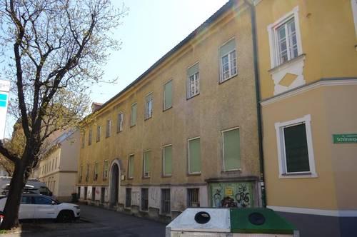 Im beliebten Grazer Bezirk Jakomini! Schönes 3-geschossiges Zinshaus angrenzend an den I. Bezirk Innere Stadt in der Grazbachgasse