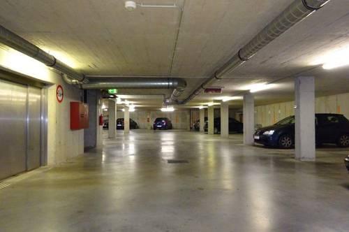 Vier-KFZ-Tiefgaragen-Abstellplätze nebeneinander in der Elisabethinergasse zu verkaufen