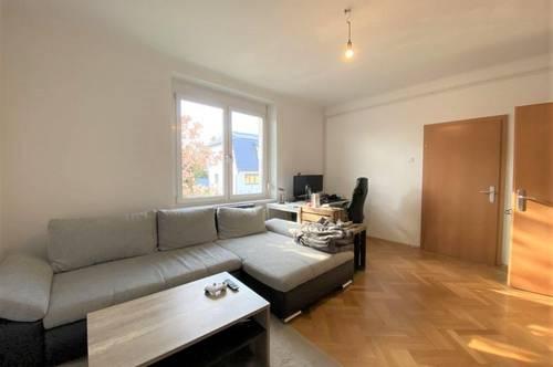 Ideal aufgeteilte 2-Zimmer-Wohnung mit separater Wohnküche in zentraler, ruhiger Lage in Puntigam