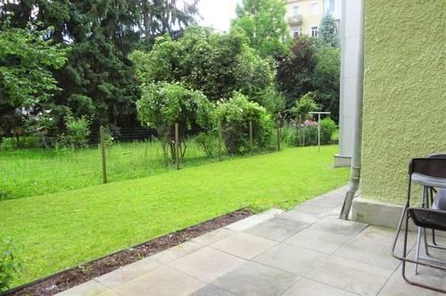Gepflegte, teilmöblierte 2-Zimmer-Wohnung mit großzügiger Terrasse in zentraler und ruhiger Lage in Graz-Lend