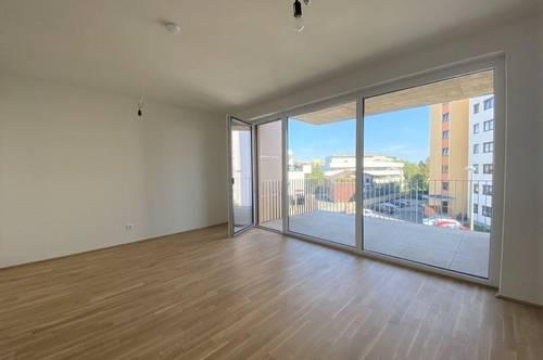 Jetzt einziehen, Miete erst ab März bezahlen! Erstbezug – Schöne, helle 3-Zimmer-Neubauwohnung mit Balkon und KFZ-Tiefgaragenabstellplatz - PROVISIONSFREI