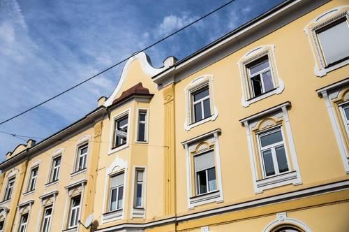 Sehr schönes, zentral gelegenes 3-geschossiges Stilaltbaueckzinshaus mit großem Rohdachboden in Bruck a. d. Mur