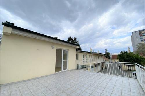 Sonnige Wohnung mit einer rd. 30m² großen Dachterrasse in zentraler Lage in der Moserhofgasse