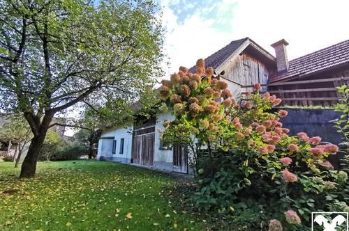 Sehr gut gepflegtes Bauernhaus mit angrenzendem Wirtschaftsgebäude - Region Wörthersee & Faakersee