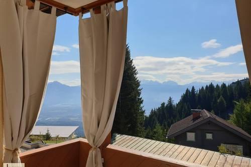 RESERVIERT!! Gemütliche 2-Zimmer-Ferienwohnung (möbliert) mit Fernsicht vom S/W-Balkon