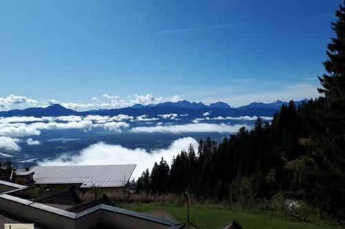 Für Naturliebhaber: möblierte 2-Zi-Wohnung mit Balkon und schöner Aussicht