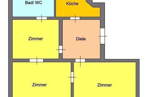 Großzügige 3-Zimmer Wohnung direkt beim Jakominiplatz