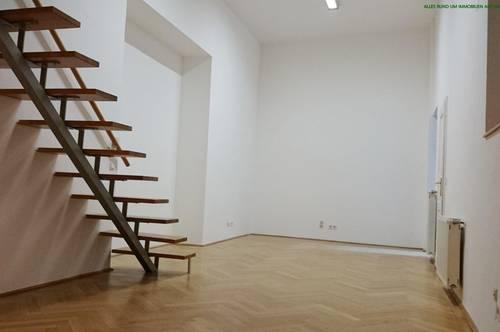 ruhiges Atelier in einem gepflegten Stilaltbau in der Novaragasse