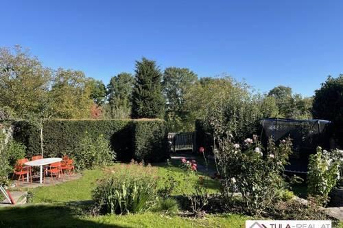 Schöne Familienwohnung mit Terrasse und Garten | direkt an der Donaulände