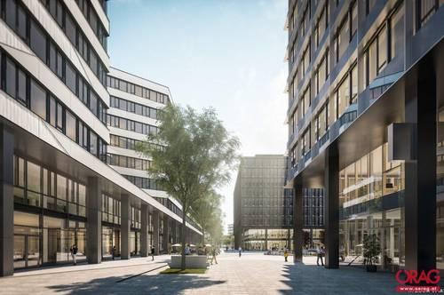 Hauptbahnhof: Büroflächen im Quartier Belvedere Central - zu mieten in 1100 Wien