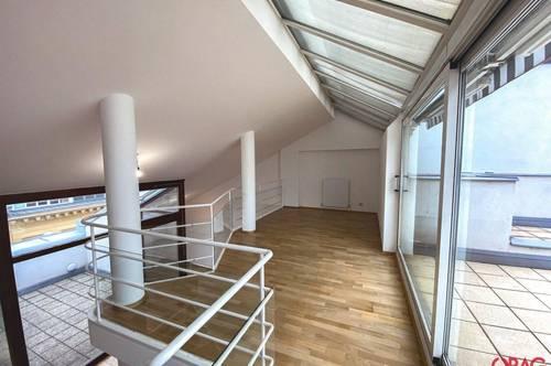 4 Zimmer Dachgeschosswohnung mit Terrasse in der Neutorgasse zur Miete in 1010 Wien